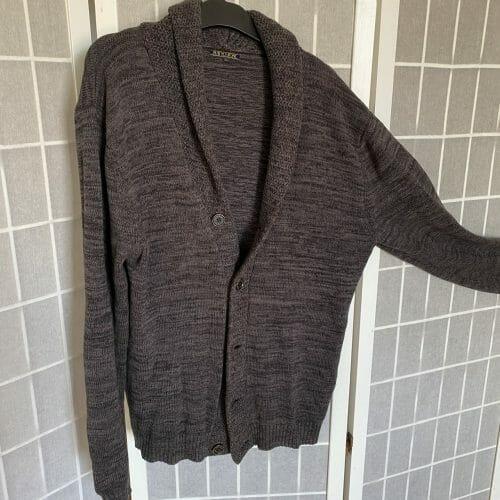 Pánsky sveter/kardigán na gombíky
