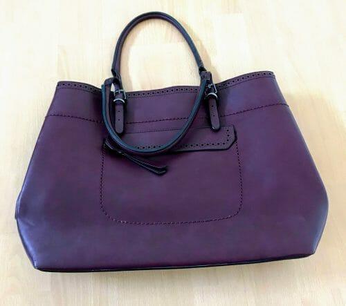 Predám fialovú kabelku zn. Baťa