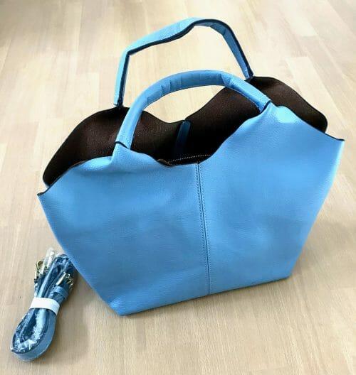 Predám bledomodrú kabelku