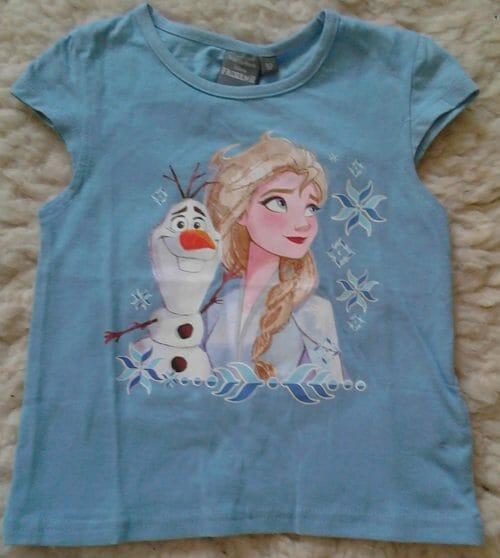 Dievčenské tričko Frozen
