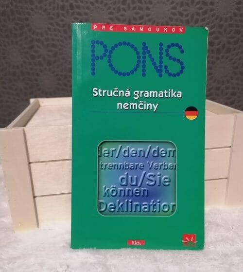 Stručná gramatika nemčiny PONS