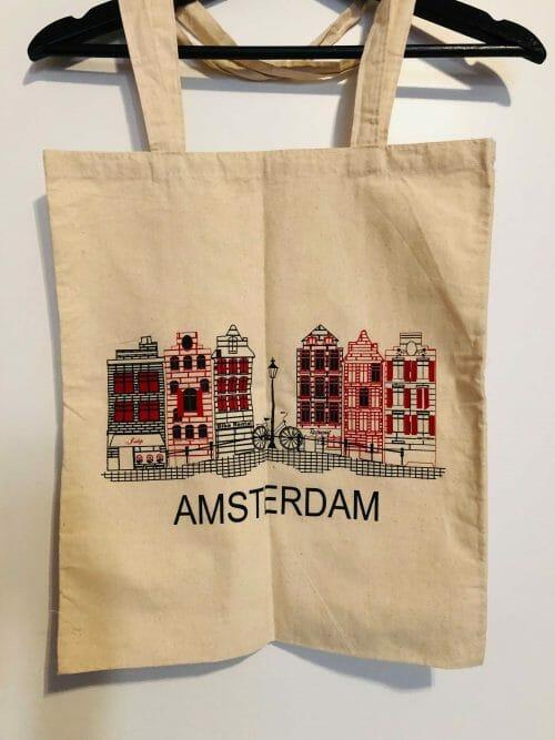 Amsterdam – plátená taška
