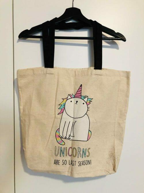 Cat Unicorn – plátená taška