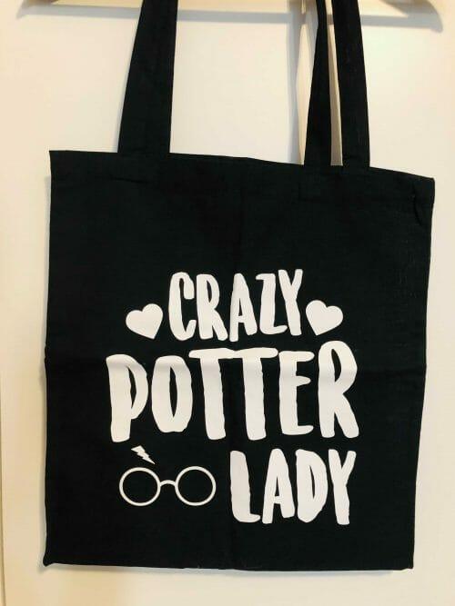 Harry Potter – plátená taška