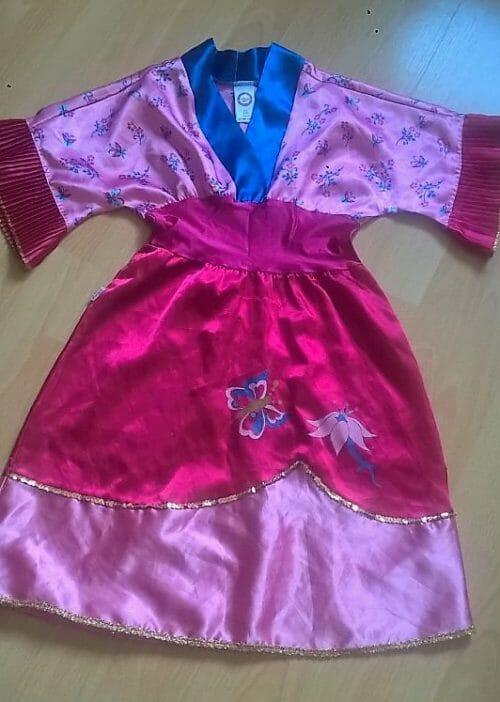 karnevalový kostým gejša… víla