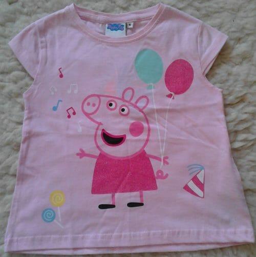 Dievčenské tričko Peppa Pig