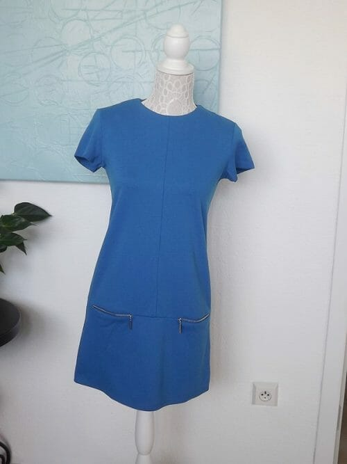 Krátke retro šaty