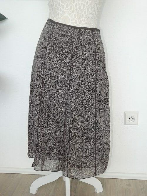 ľahučká šifónová sukňa