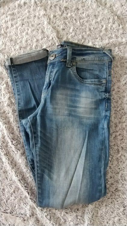 Modré džínsy