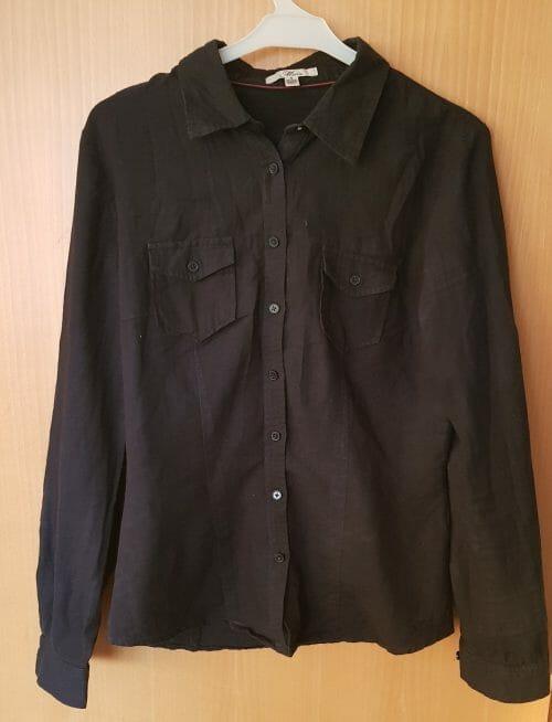 Čierna košeľa