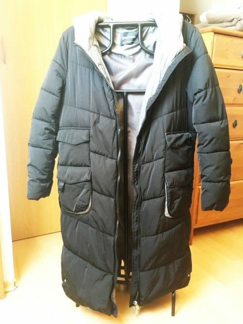Zimná bunda pod kolená