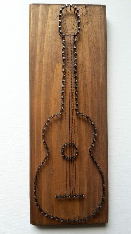 Gitara – Drôtom vypletaný obraz