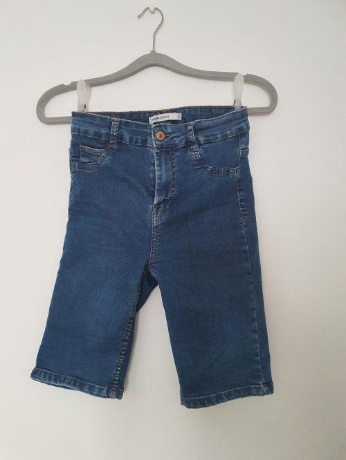 Trojštvrťové Riflové nohavice