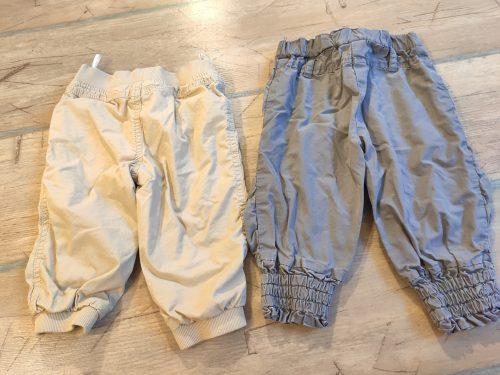 Zateplené nohavice veľ 74
